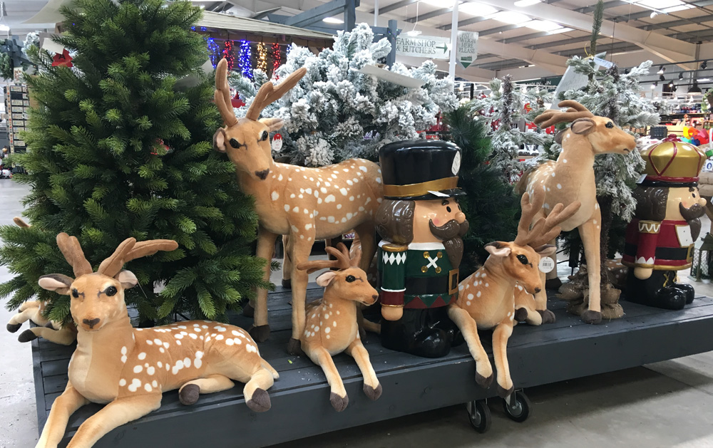 Ho Ho Hurry On Down To Coleman S Garden Centre For All Your Christmas Decorations Colemans Garden Centre